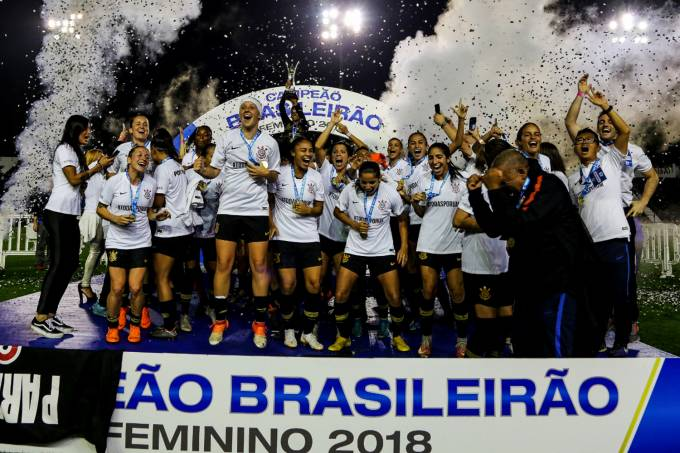 Corinthians Campeão Brasileiro Feminino 2018