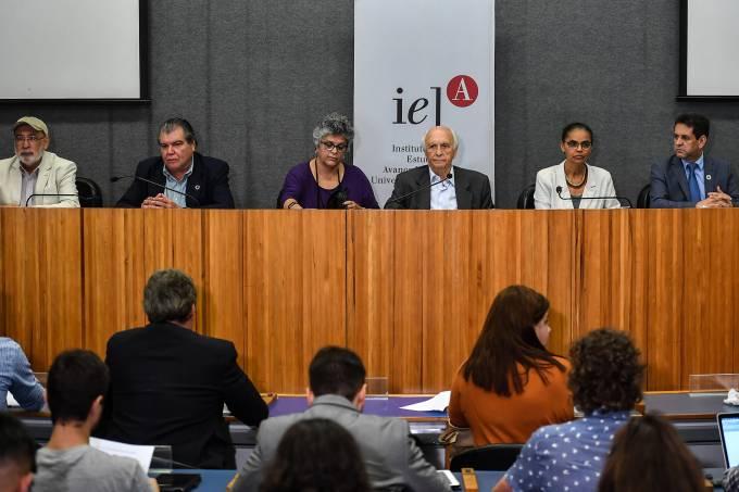 Encontro de  ex-ministros do Meio Ambiente