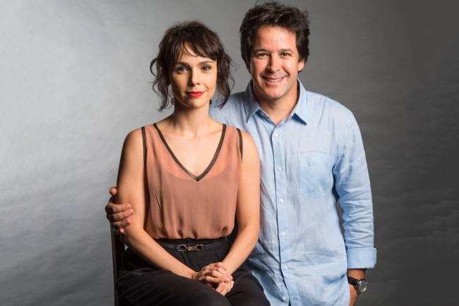 Débora Falabella e Murilo Benício