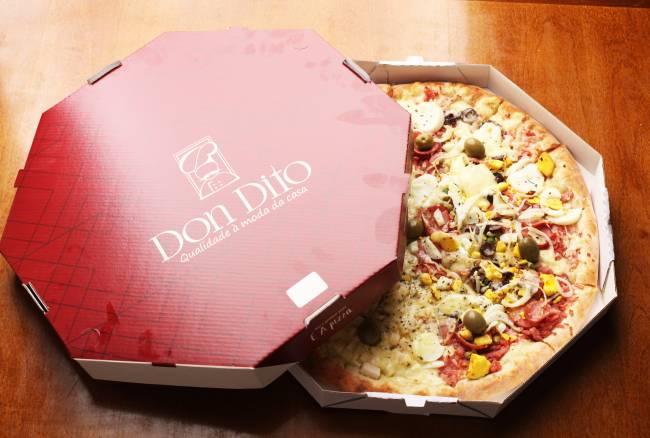 Melhor pizza da categoria delivery, de Cuiabá.