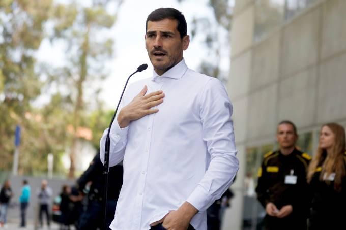 O goleiro Iker Casillas