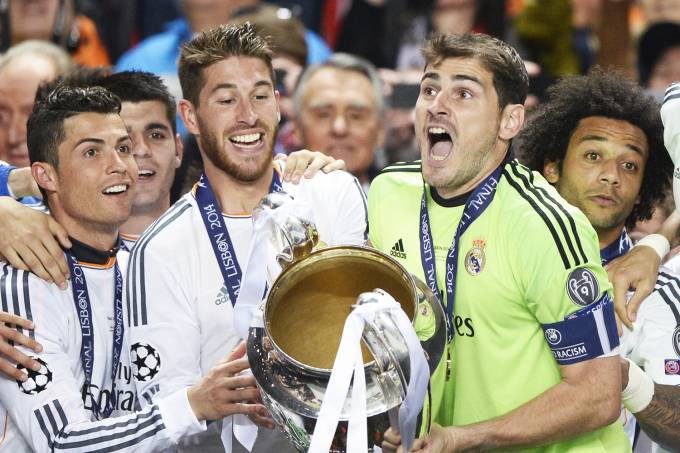 Iker Casillas e Sergio Ramos