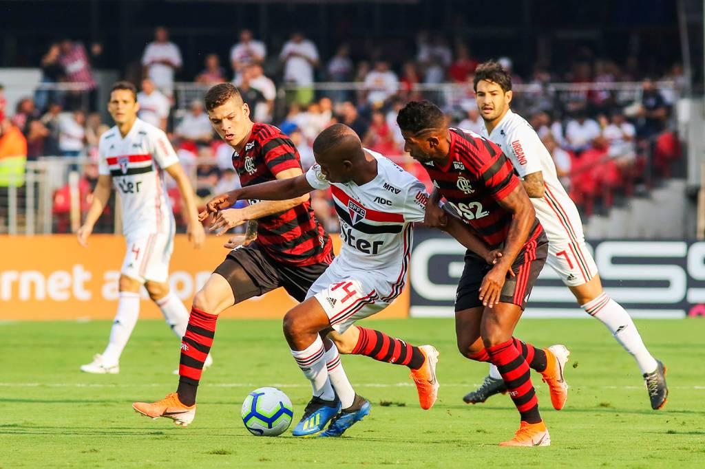 Brasileirao Sao Paulo E Flamengo Empatam No Morumbi