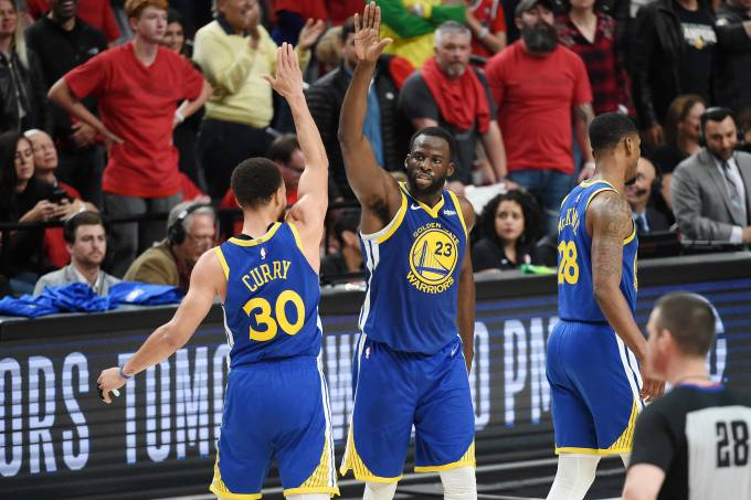 Golden State Warriors x Portland Trail Blazers