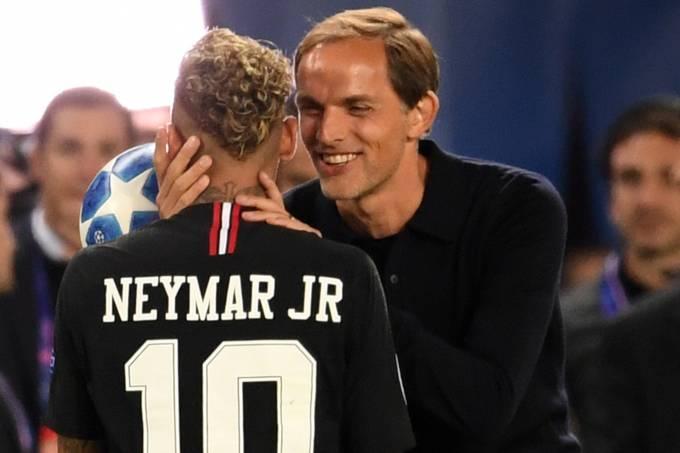 Thomas Tuchel e Neymar