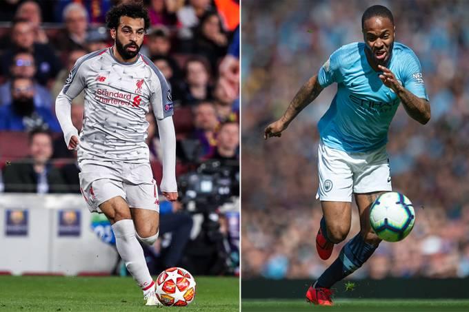 Mohamed Salah e Raheem Sterling