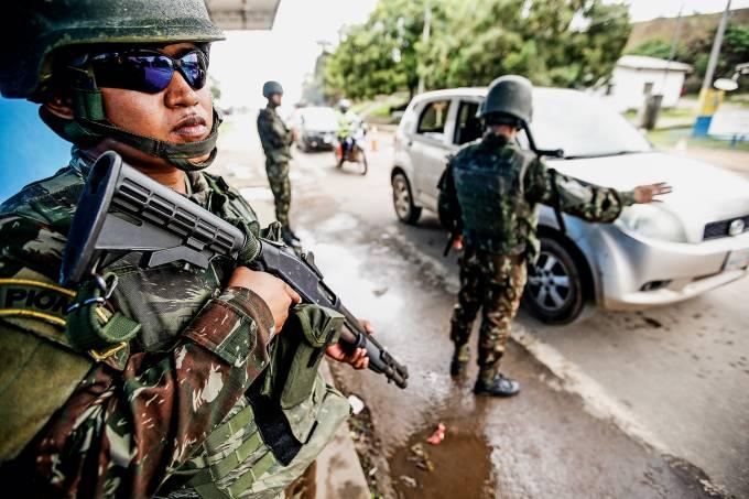 Exército em Pacaraima