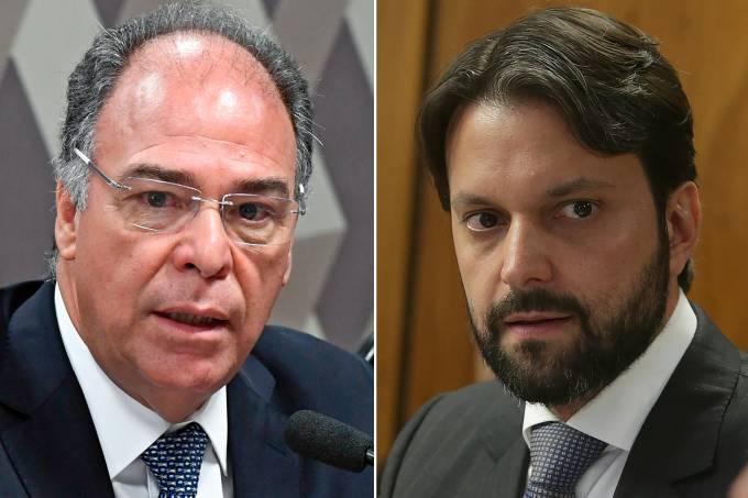 Fernando Bezerra e Alexandre Baldy