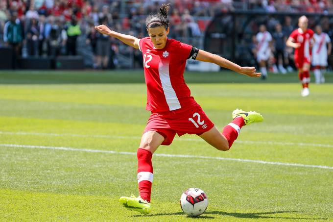 Jogadora Christine Sinclair