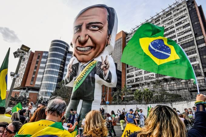 Protestos a favor de Jair Bolsonaro