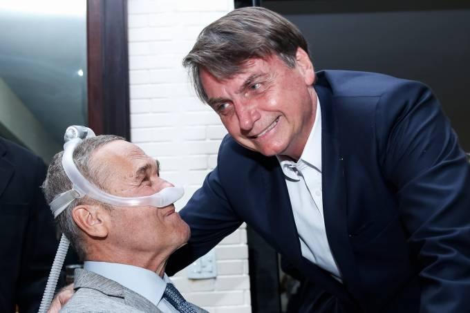 Jair Bolsonaro e VIllas Bôas