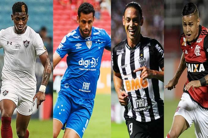 Yony González, Fred, Ricardo Oliveira e Everton Ribeiro