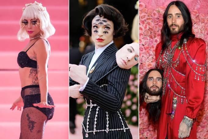Lady Gaga, Ezra Miller e Jared Leto
