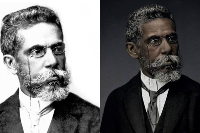 Machado de Assis Real: campanha quer corrigir branqueamento do escritor