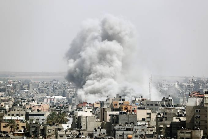 Ataques em Gaza