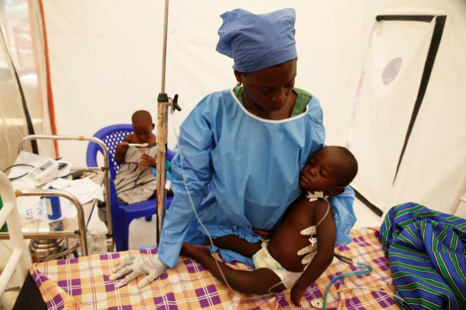 Surto de ebola no Congo
