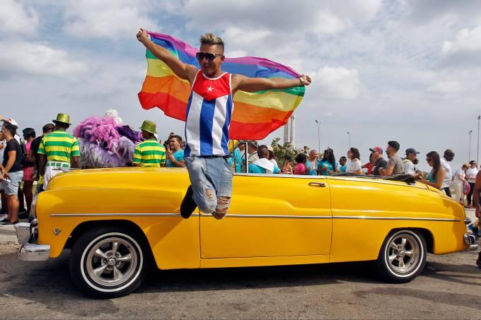 Marcha contra a homofobia em Cuba