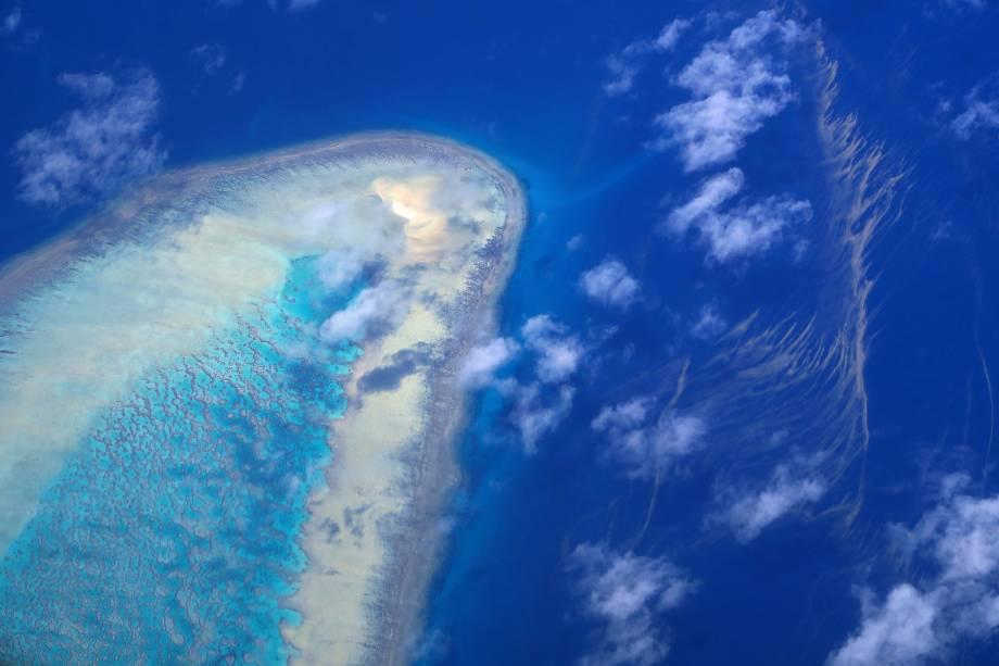 Ilha localizada na Grande Barreira de Corais, localizada na costa de Queensland, na Austrália