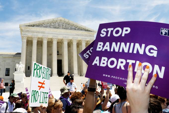 Protesto a favor do aborto – Estados Unidos