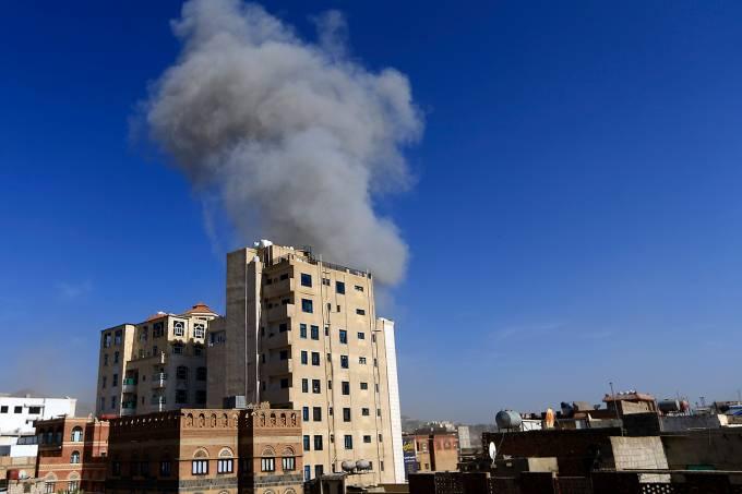Bombardeios no Iêmen