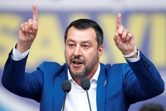 Eleição do Parlamento Europeu – Matteo Salvini
