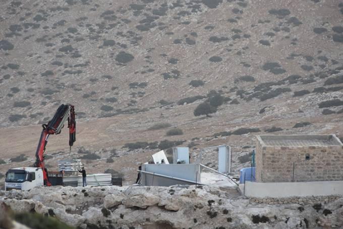 Escola destruída na Palestina