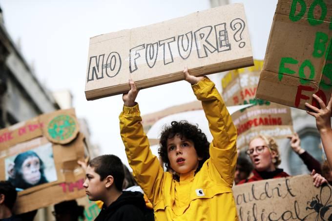 Protestos contra mudanças climáticas – Espanha