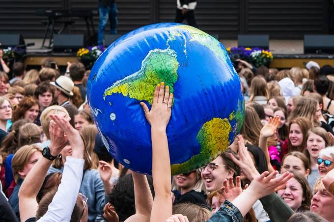 Protestos contra mudanças climáticas – Suécia