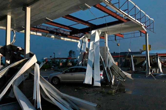 Tornado atinge o estado do Missouri