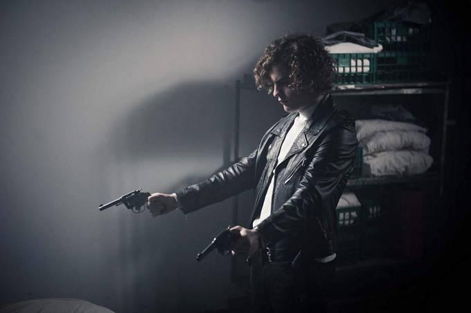 Lorenzo Ferro como Carlitos, protagonista de 'O Anjo'