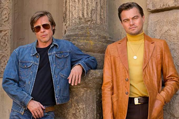 Brad Pitt e Leonardo DiCaprio em 'Era uma Vez em Hollywood', novo filme de Quentin Tarantino
