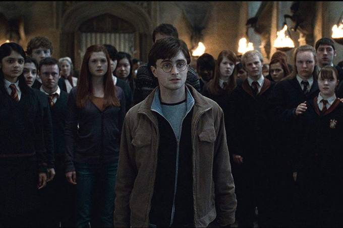 Cena de 'Harry Potter e as Relíquias da Morte – Parte 2'