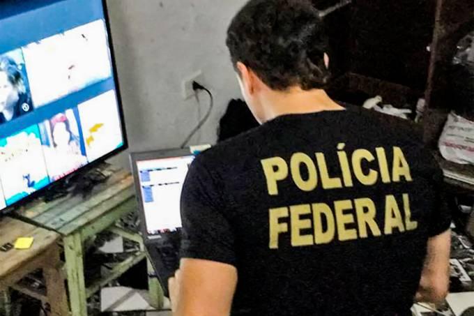 PF realiza operação de combate à pornografia infantil