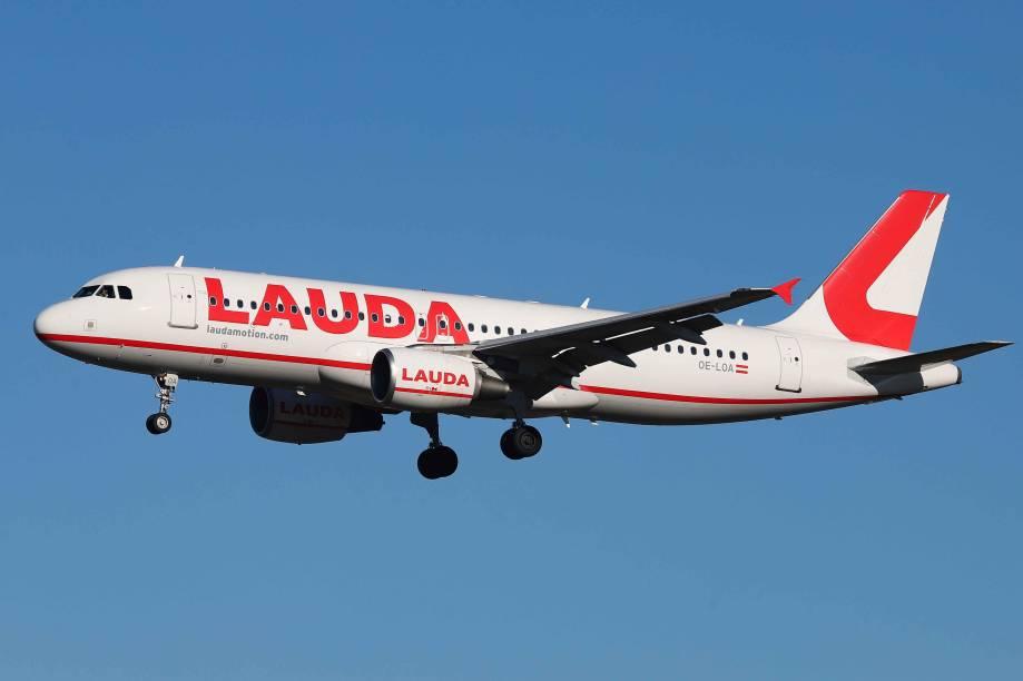 Avião A320-200 da Lauda Motion Airbus