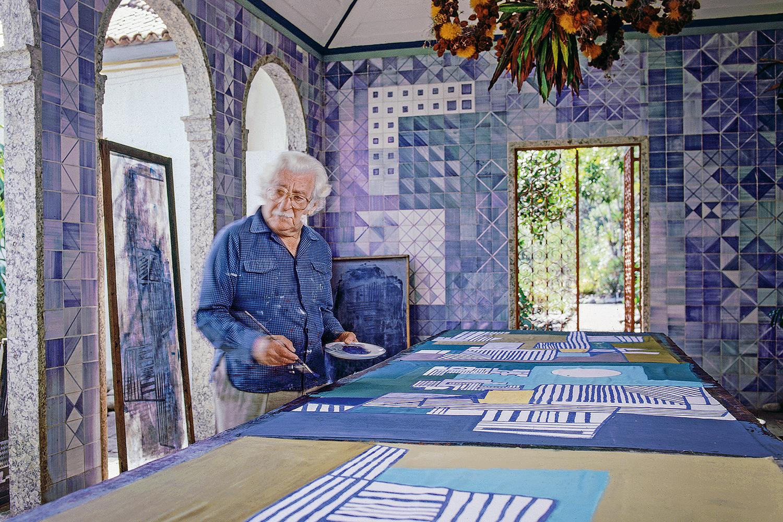 VARIEDADE- O ateliê de Burle Marx (1909-1994) no Rio