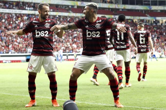 Campeonato Brasileiro Flamengo Atropela Goias Na Estreia De Jorge Jesus