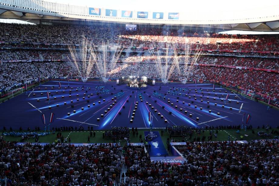 Jogo entre Tottenham e Liverpool, jogo válido pela final da Champions League  - 01/-62019