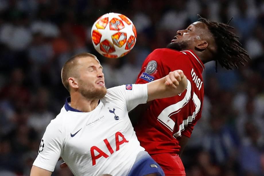 Jogo entre Tottenham e Liverpool,  válido pela final da Champions League - 01/06/2019