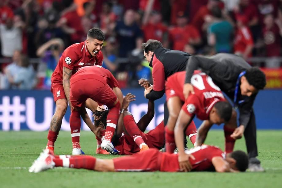 Liverpool supera o Tottenham na final e conquista a liga dos campeões -  01/06/2019