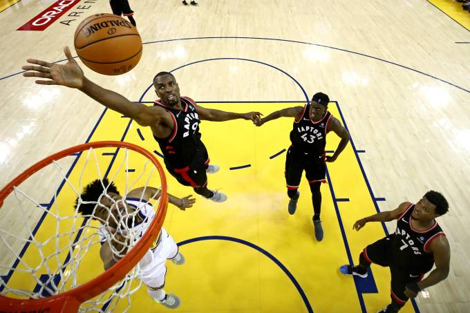 NBA: Finals-Toronto Raptors at Golden State Warriors