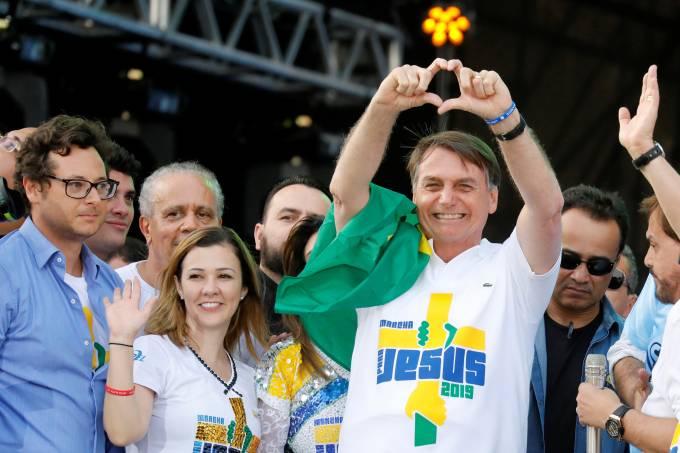 Jair Bolsonaro –  Marcha para Jesus