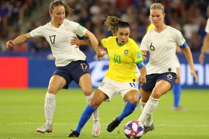 Copa do Mundo de Futebol Feminino 2019 – França x Brasil