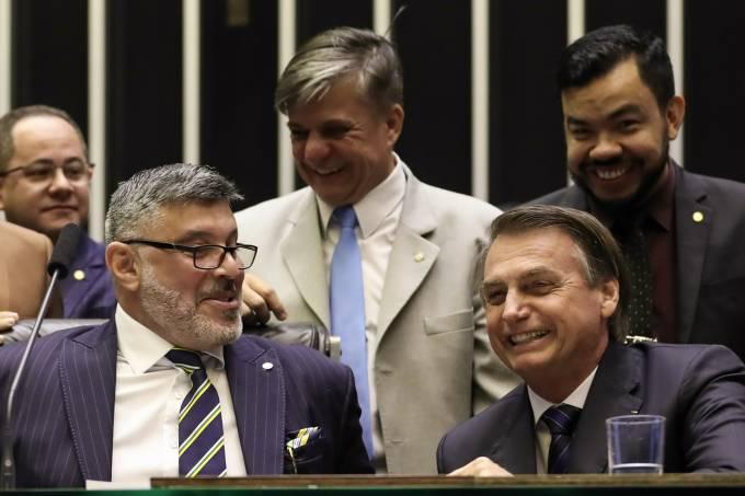 Jair Bolsonaro e Alexandre Frota