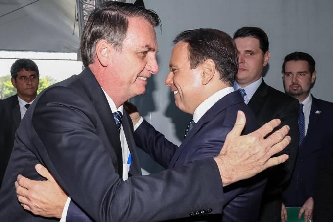 Jair Bolsonaro e João Dória