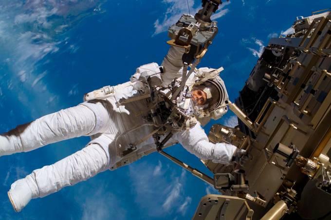 Astronauta da Estação Espacial Internacional (ISS)