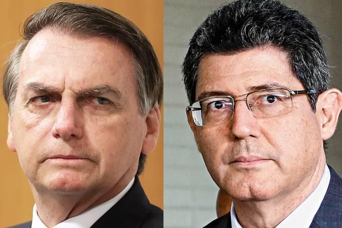 Jair Bolsonaro e Joaquim Levy