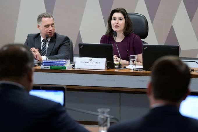 CCJ do Senado – Simone Tebet