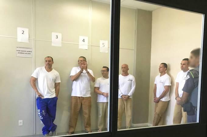 Alexandre Nardoni, Mizael Bispo de Souza, Gil Rugai, Cristian Cravinhos, Guillherme Longo e Lindenberg Alves
