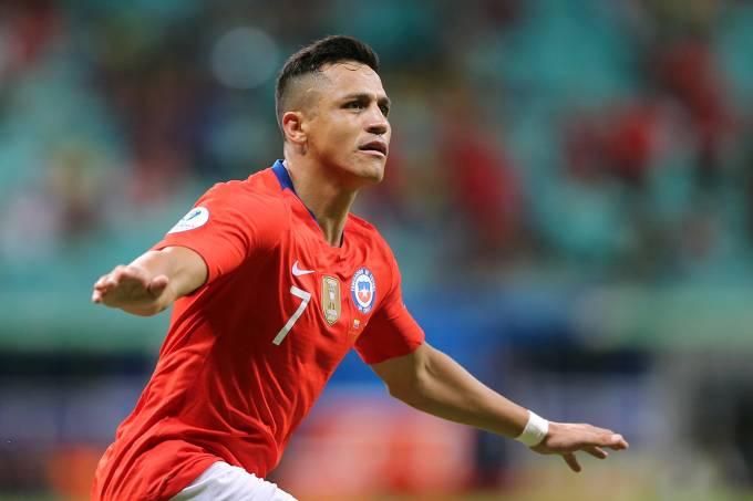Equador x Chile – Alexis Sánchez