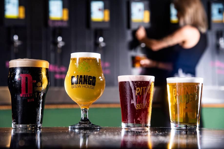 O melhor lugar para tomar chope: Django Brew House oferece variedades da bebida